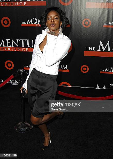 Kelly Rowland during 'The Seat Filler' Los Angeles Premiere Arrivals at El Capitan Theatre in Hollywood California United States