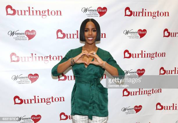 Kelly Rowland Grammy awardwinning recording artist and heart health advocate teams up with Burlington Stores and WomenHeart to educate women about...