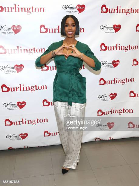 Kelly Rowland, Grammy award-winning recording artist and heart health advocate, teams up with Burlington Stores and WomenHeart to educate women about...