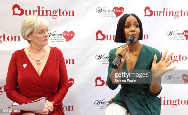 Kelly Rowland , Grammy award-winning recording artist and heart health advocate, teams up with Burlington Stores and WomenHeart to educate women...