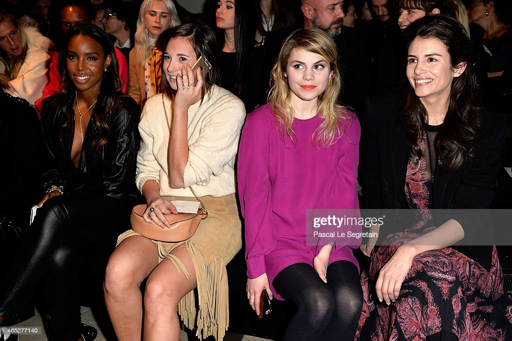 Barbara Bui : Front Row - Paris Fashion Week Womenswear Fall/Winter 2015/2016