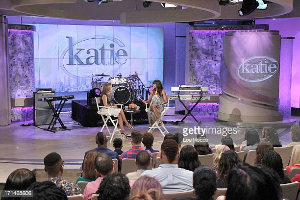 KATIE 6/26/13 Kelly Rowland is a guest and performs on KATIE distributed by DisneyABC Domestic Television KATIE