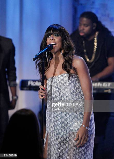 KATIE 6/26/13 Kelly Rowland is a guest and performs on KATIE distributed by DisneyABC Domestic Television KELLY