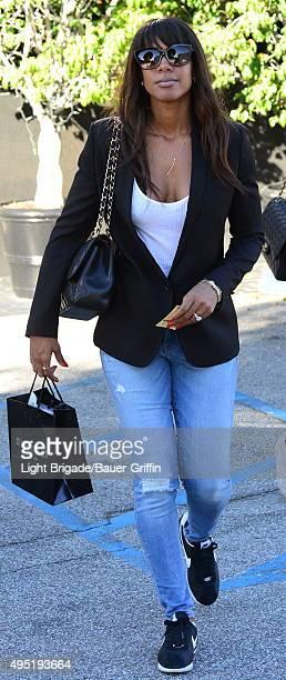 Kelly Rowland is seen in Los Angeles Ca on October 31 2015 in Los Angeles California