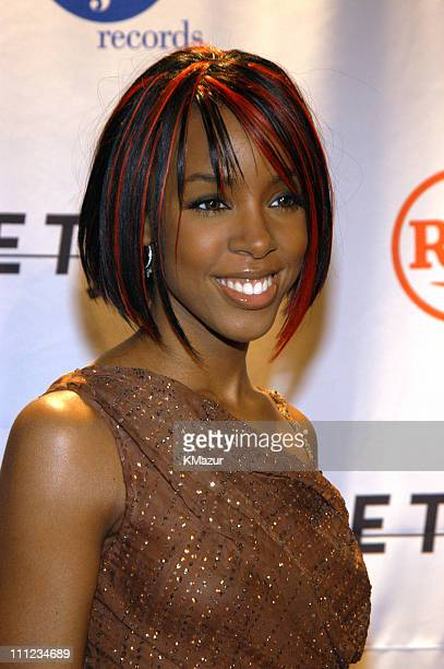Kelly Rowland of Destiny's Child during 2003 Clive Davis PreGRAMMY Party Arrivals at The Regent Wall Street in New York City New York United States