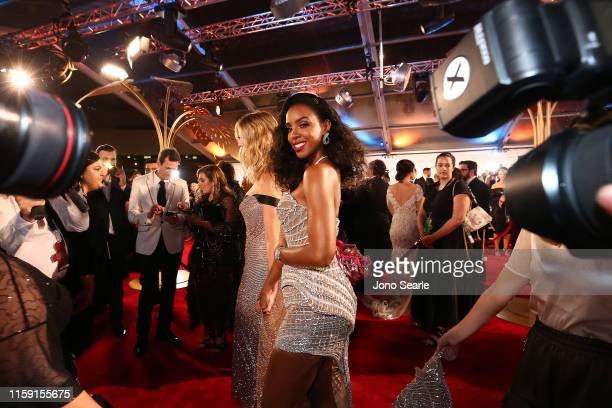 Kelly Rowland of The Voice arrives at the 61st Annual TV WEEK Logie Awards at The Star Gold Coast on June 30, 2019 on the Gold Coast, Australia.