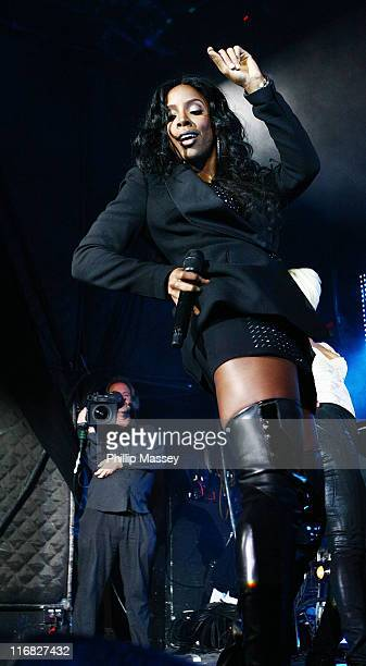 Kelly Rowland performs in Tripod to celebrate the 250th Anniversary of Guinness on September 24 2009 in Dublin Ireland