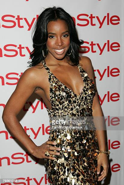 Kelly Rowland poses at the Instyle Best Beauty Buys Awards 2008 held at Sketch on January 29 2008 in London England