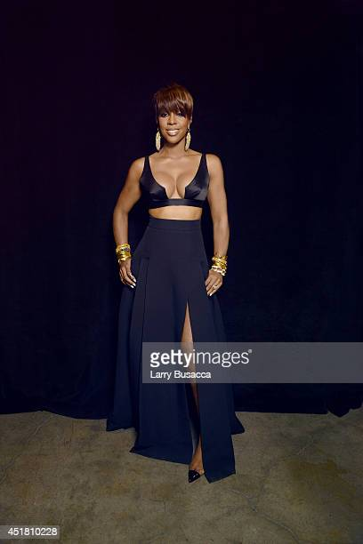 Kelly Rowland poses for a portrait at the 2014 Billboard Music Awards on May 18 2014 in Las Vegas Nevada