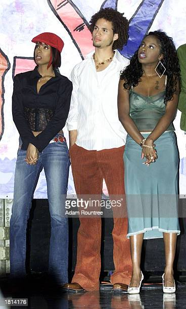 """Kelly Rowland, Quddus, and Foxy Brown attend the """"SHiNE"""" charity benefit hosted by MTV and Seventeen Magazine at Webster Hall, New York City,..."""