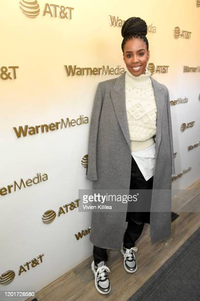 Kelly Rowland stops by WarnerMedia Lodge Elevating Storytelling with ATT during Sundance Film Festival 2020 on January 24 2020 in Park City Utah
