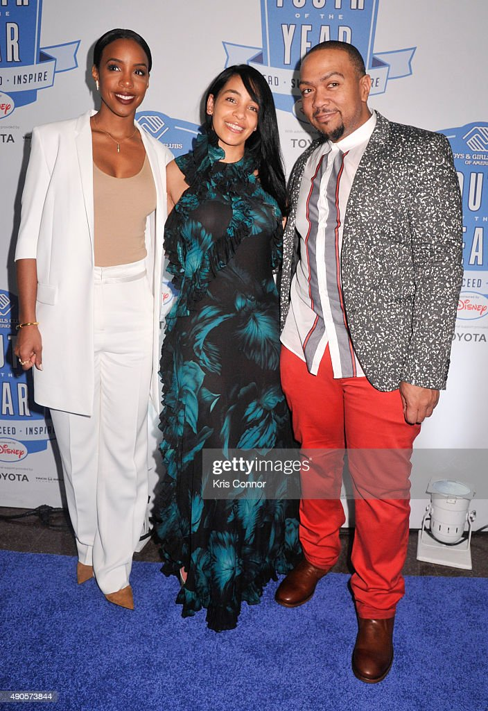 Kelly Rowland, Timbaland and Monique Mosley attend the 2015 Boys and Girls Clubs of America National Youth of the Year celebration at the National Building Museum on September 29, 2015 in Washington, DC.