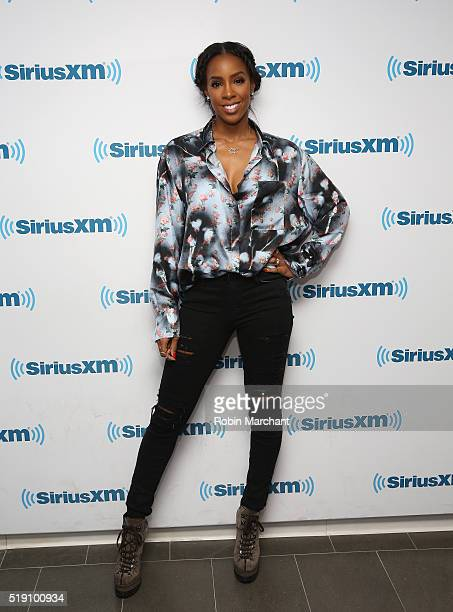 Kelly Rowland visits at SiriusXM Studio on April 4 2016 in New York City