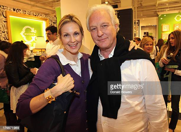 3543a6f1fbfa Kelly Rutherford and Chris Burch attend the grand opening extravaganza at C  Wonder Flagship Store on