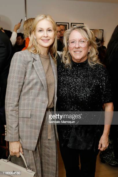 Kelly Rutherford and Deirdre Quinn attend the Patrick McMullan x Lafayette 148 New York Madison Avenue opening event at the Lafayette 148 New York...
