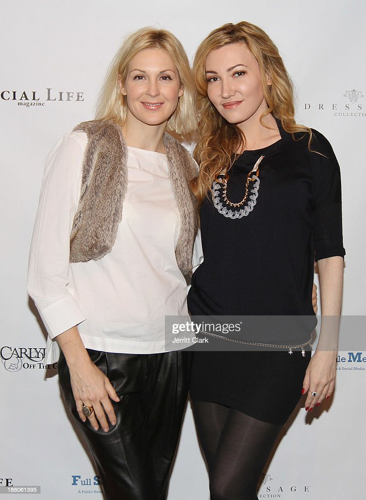 Kelly Rutherford and Devorah Rose attend the Social Life Magazine Luxe Manhattan Event on November 13, 2013 in New York City.
