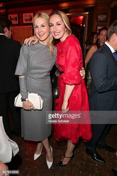 Kelly Rutherford and Elna Margret zu Bentheim during the Lambertz Monday Night 2016 at Alter Wartesaal on February 1 2016 in Cologne Germany