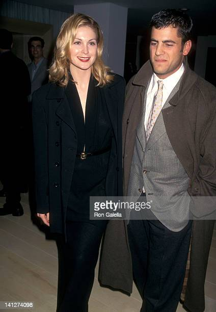Kelly Rutherford and guest at the Party for Launch of New CompanyPerfumes Isabell Mondrian Hotel West Hollywood