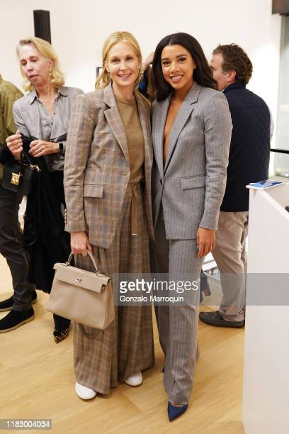 Kelly Rutherford and Hannah Bronfman attend the Patrick McMullan x Lafayette 148 New York Madison Avenue opening event at the Lafayette 148 New York...