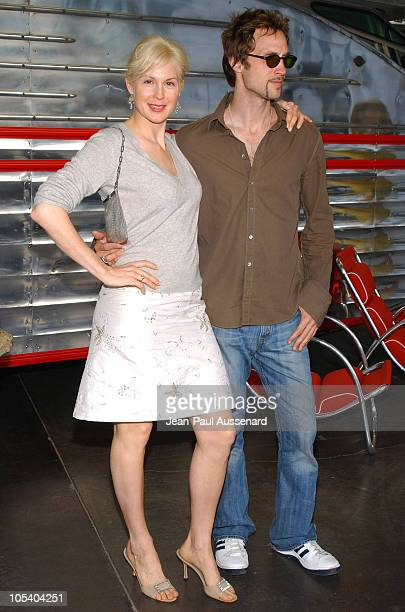 Kelly Rutherford and her brother during LA Modernism Show Opening Night Gala Preview Party at Civic Auditorium in Santa Monica California United...