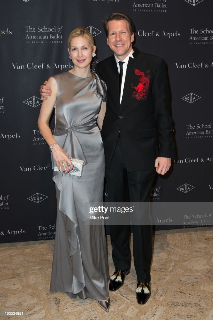 Kelly Rutherford and Nicolas Luchsinger attend the School of American Ballet 2013 Winter Ball at David H. Koch Theater, Lincoln Center on March 11, 2013 in New York City.