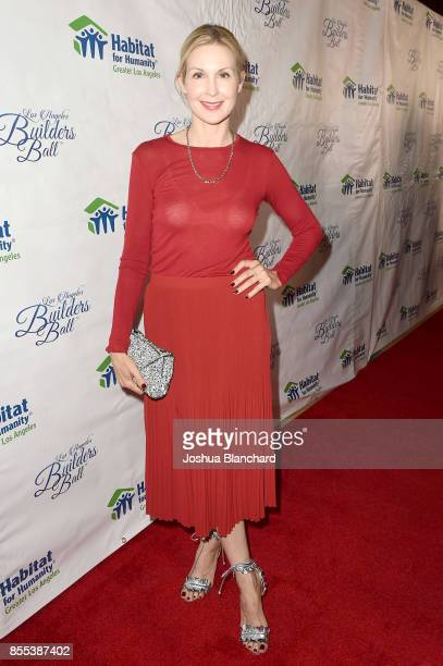 Kelly Rutherford arrives at the Habitat LA 2017 Los Angeles Builders Ball at The Beverly Hilton Hotel on September 28 2017 in Beverly Hills California