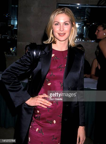 Kelly Rutherford at the Aaron Spelling Holiday Party for Cast Crew of His Shows Beverly Hilton Hotel Beverly Hills