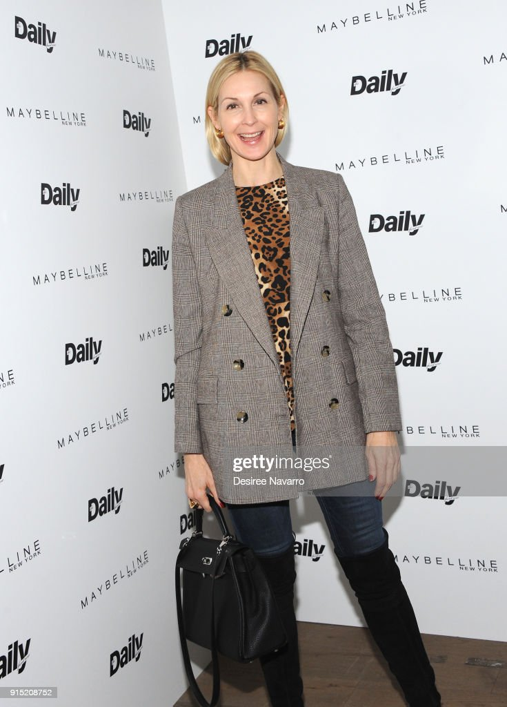 Kelly Rutherford attends Daily Front Row's 15th Anniversary Celebration on February 6, 2018 in New York City.