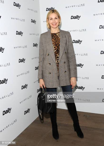 Kelly Rutherford attends Daily Front Row's 15th Anniversary Celebration on February 6 2018 in New York City