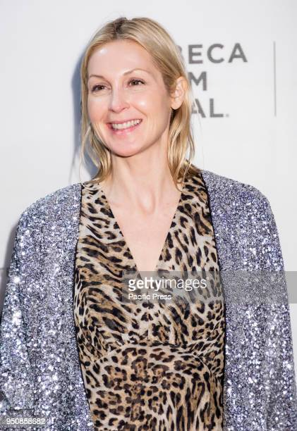 Kelly Rutherford attends screening of Genius Picasso' during the 2018 Tribeca Film Festival at BMCC Tribeca PAC Manhattan
