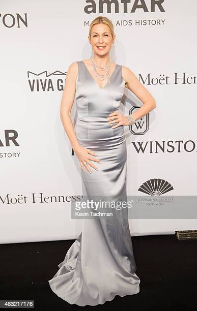 Kelly Rutherford attends the 2015 amfAR New York Gala at Cipriani Wall Street on February 11 2015 in New York City
