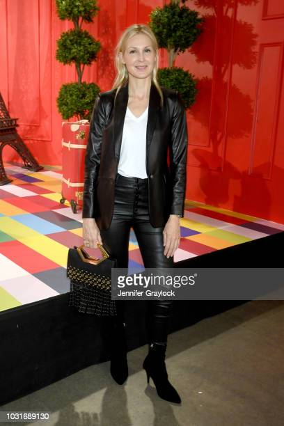 Kelly Rutherford attends the alice olivia SS19 Presentation Powered By Bookingcom at Pier 59 Studios on September 11 2018 in New York City