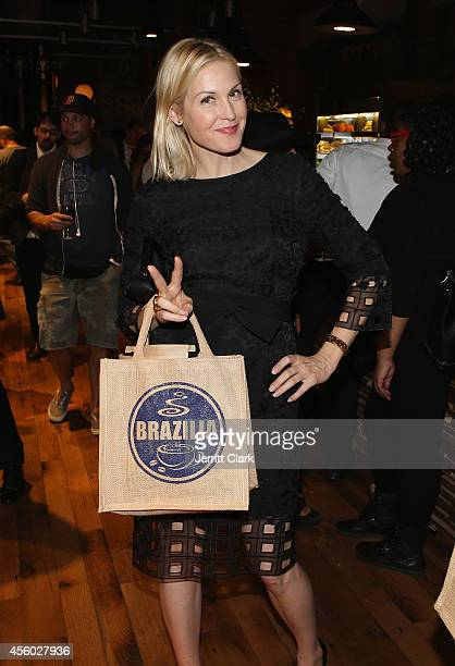 Kelly Rutherford attends the Brazilia Cafe launch party at Brazilia Cafe on September 23 2014 in New York City