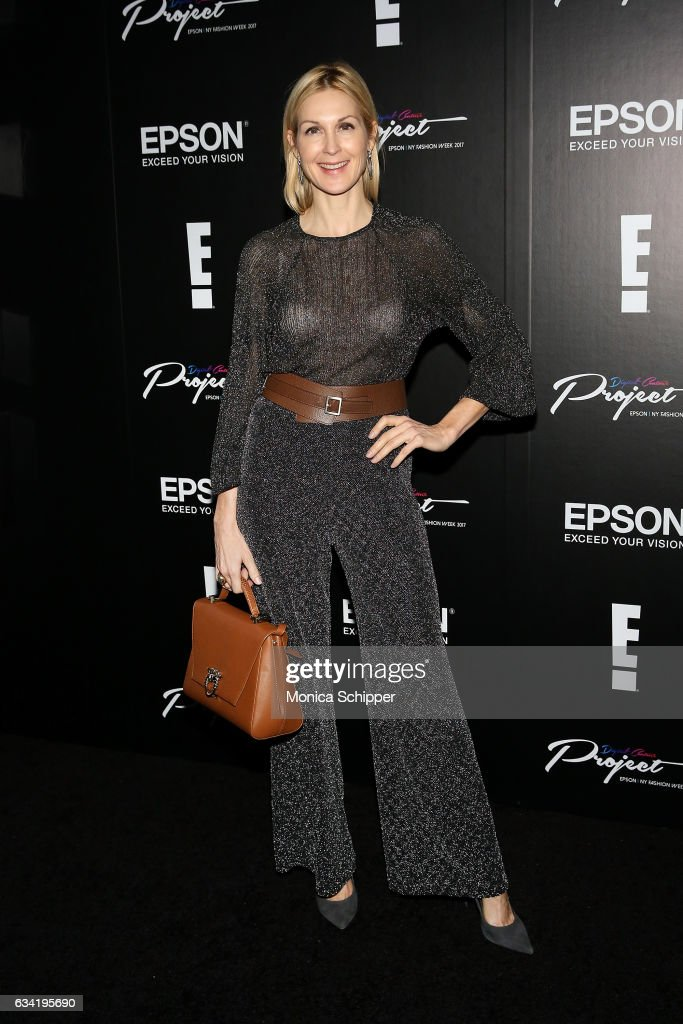 Kelly Rutherford attends the Epson Digital Couture Presentation February 2017 during New York Fashion Week at IAC Building on February 7, 2017 in New York City.
