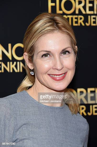 Kelly Rutherford attends the Florence Foster Jenkins New York premiere at AMC Loews Lincoln Square 13 theater on August 9 2016 in New York City