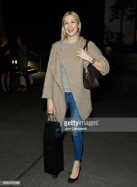Kelly Rutherford attends the 'Indian Ink' OffBroadway Opening Night at Roundabout Theatre Company's Laura Pels Theatre on September 30 2014 in New...