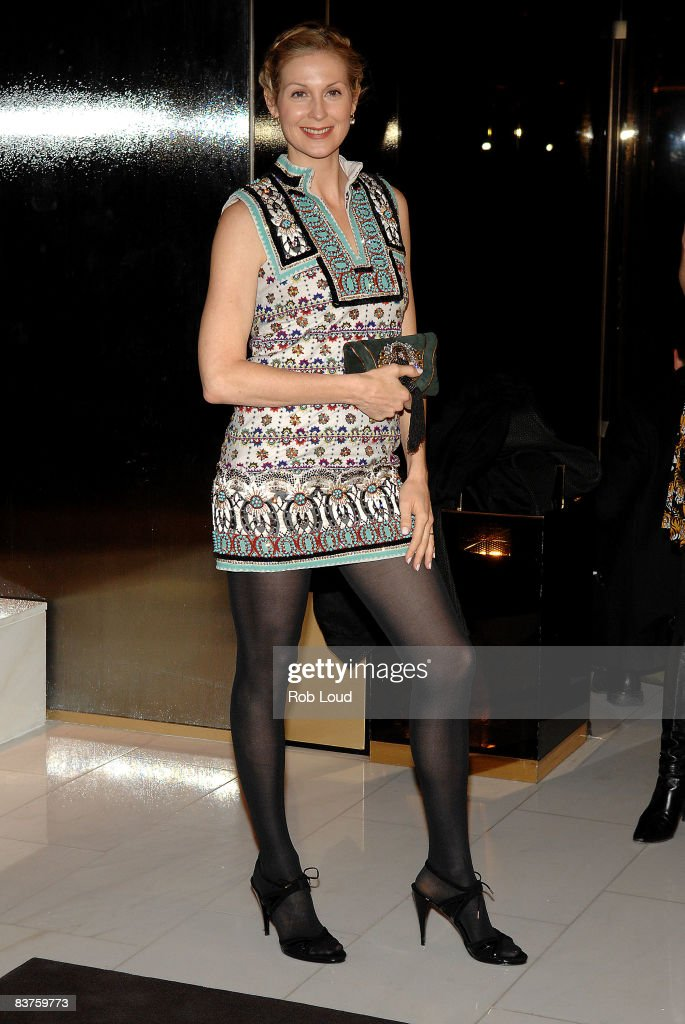 Kelly Rutherford attends the launch of Gucci's Tattoo Heart Collection to benefit UNICEF at Gucci's 5th Avenue store on November 19, 2008 in New York City.