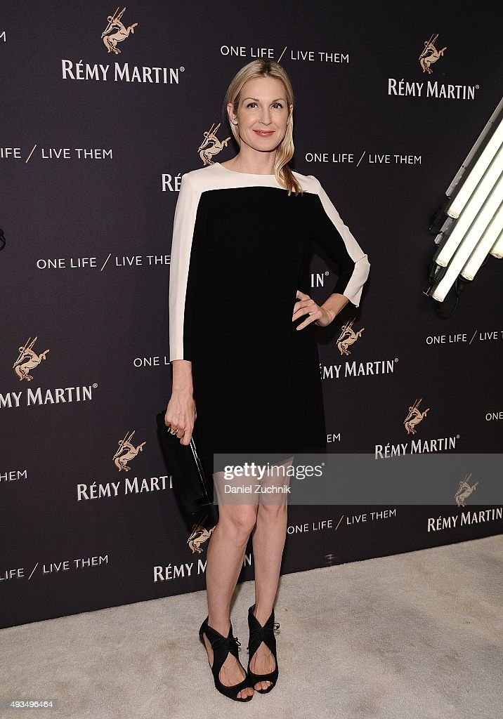 Kelly Rutherford attends the The House Of Remy Martin 'One Life/Live Them' Launch Event With Jeremy Renner at ArtBeam on October 20, 2015 in New York City.