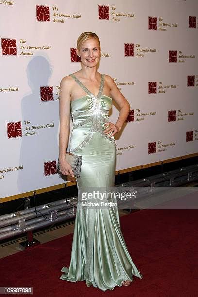 Kelly Rutherford during Art Directors Guild Awards Arrivals at Beverly Hilton in Beverly Hills California United States