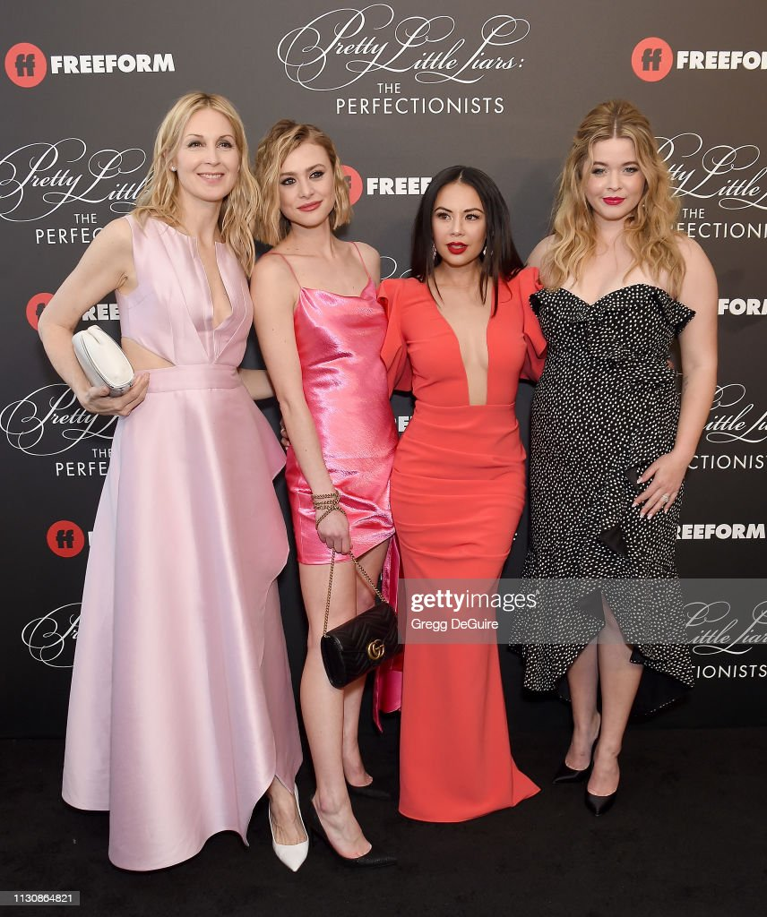 """""""Pretty Little Liars: The Perfectionists"""" Premiere - Arrivals : News Photo"""