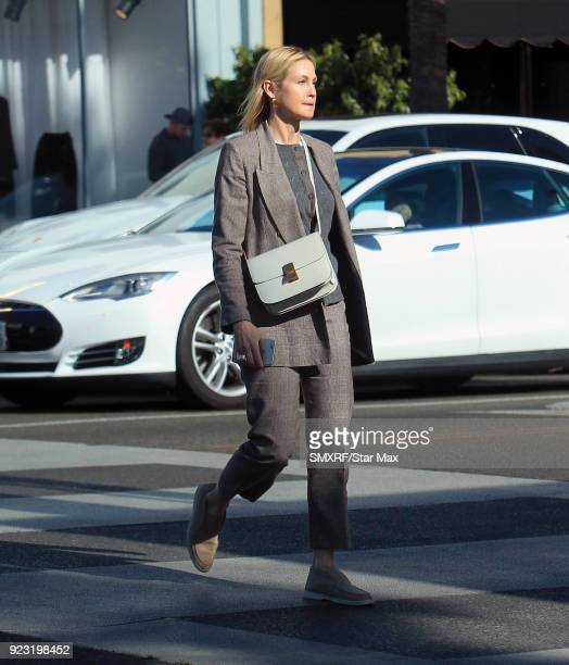 Kelly Rutherford is seen on February 22 2018 in Los Angeles California