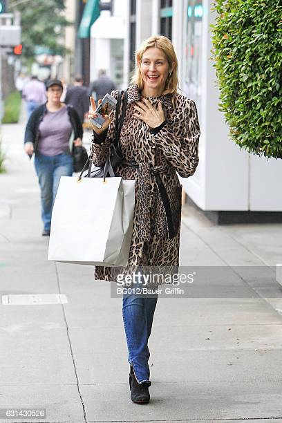 Kelly Rutherford is seen on January 10 2017 in Los Angeles California