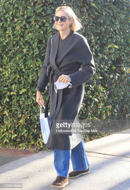 Kelly Rutherford is seen on November 10, 2020 in Los Angeles, California.