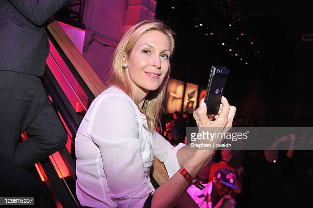 Kelly Rutherford joined Motorola Movbility to celebrate the launch of RAZR by Motorola the world's fastest ultrathin and stylish smartphone at SIR...