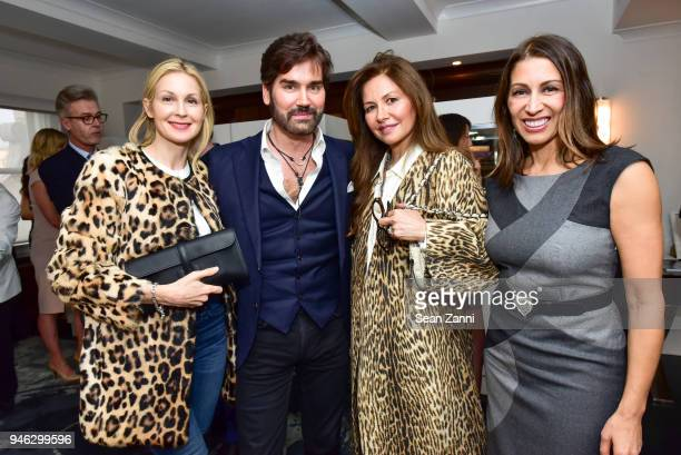Kelly Rutherford, Michael Atmore, Gamze Ates and Shamin Abas attend Fortuna Presents the Collection of Bo Legendre at The Surrey Hotel on April 12,...