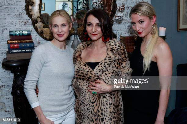 Kelly Rutherford Nathalie Rykiel and Lola Rykiel attend SONIA RYKIEL POUR HM Exclusive Preview at Bobo on February 4 2010 in New York City