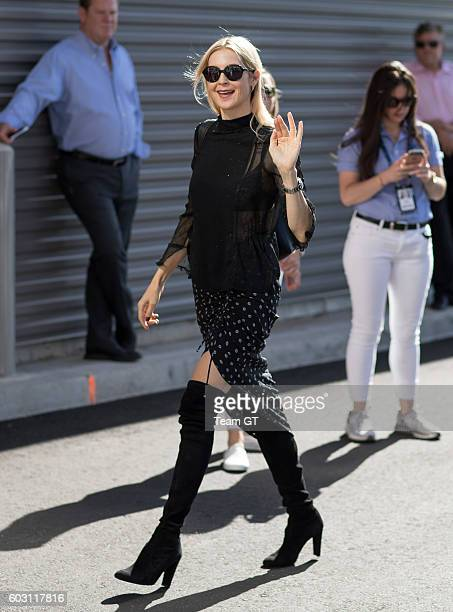 Kelly Rutherford seen at USTA Billie Jean King National Tennis Center on September 11 2016 in the Queens borough of New York City