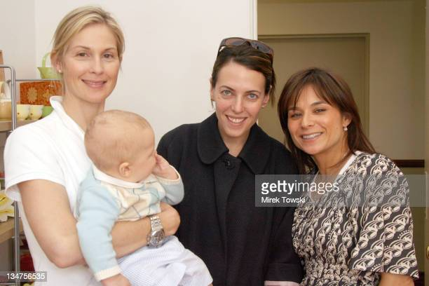 Kelly Rutherford with her son Hermes Kelly Atterton and Adeena Karsseboom