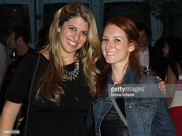 Kelly Salmon and Katie Goldstein attend The One Show Awards Ceremony at Alice Tully Hall at Lincoln Center on May 8 2013 in New York City