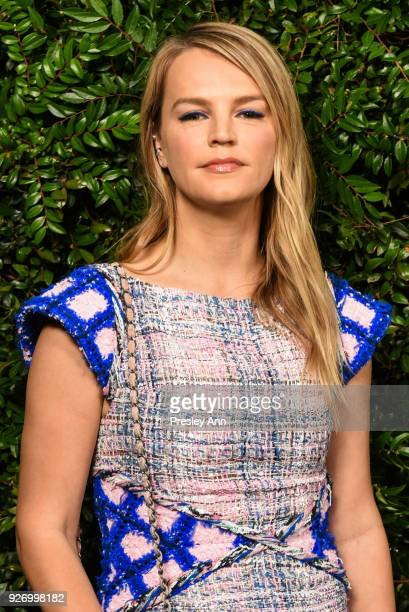 Kelly Sawyer attends Charles Finch And Chanel PreOscar Awards Dinner At Madeo in Beverly Hills at Madeo Restaurant on March 3 2018 in Los Angeles...